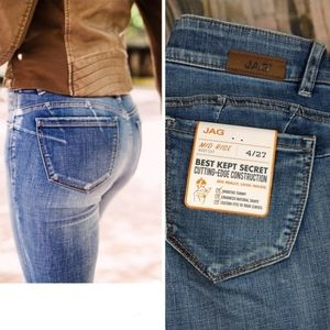 Jag Jeans Eloise Midrise Bootcut Jeans NWT